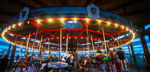 The Greenport Carousel in Greenport.