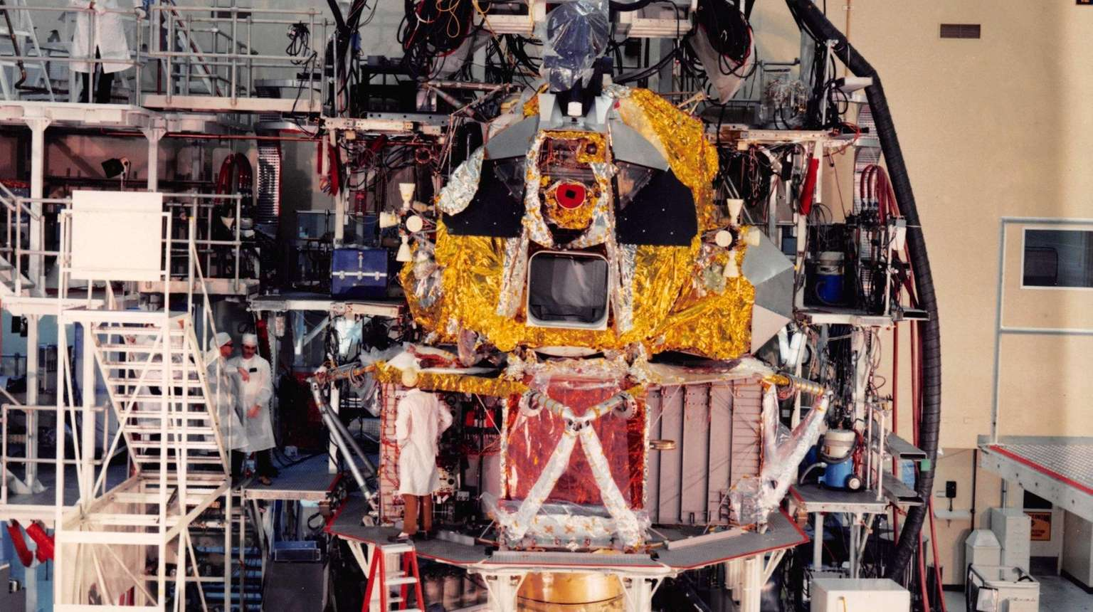 Behind the four-legged robot that walked the moon