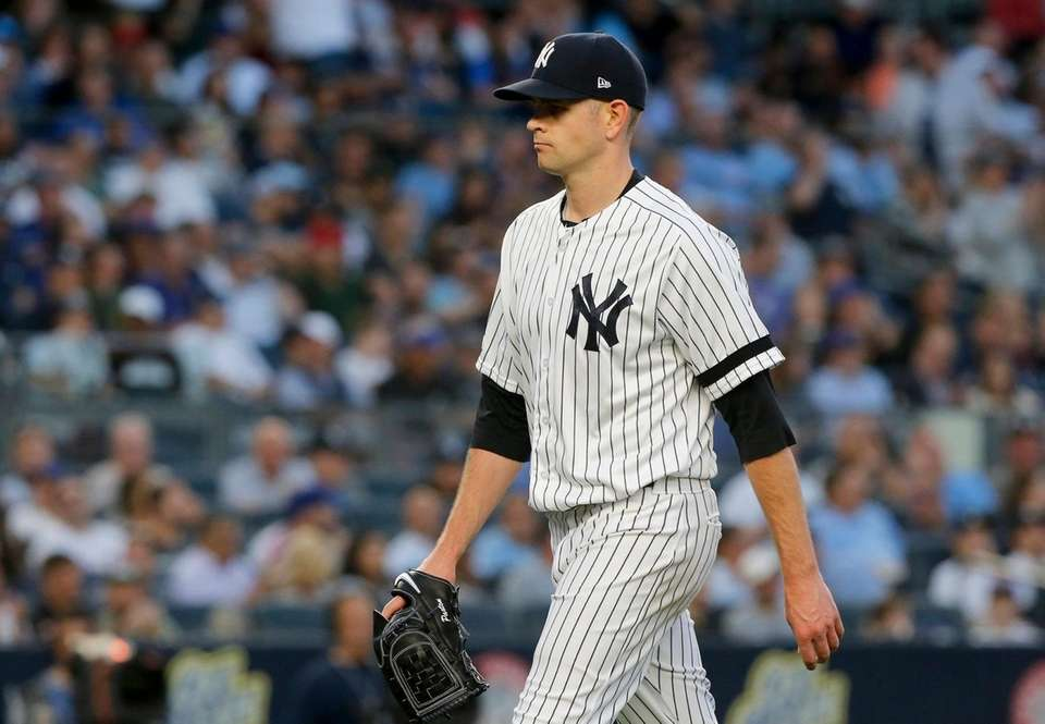 James Paxton #65 of the New York Yankees