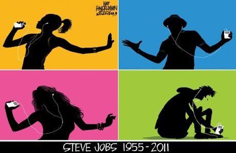 Walt Handelsman's cartoon on Steve Jobs. Click here