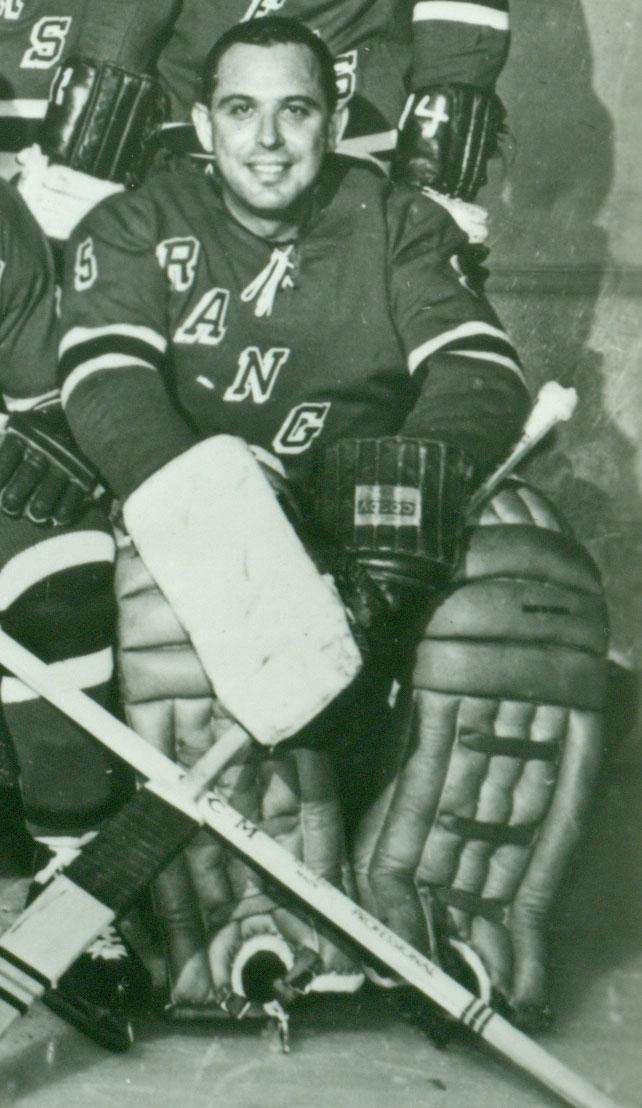 Hometown: Long Island Teams: Rangers (1959-61) NHL Stats: