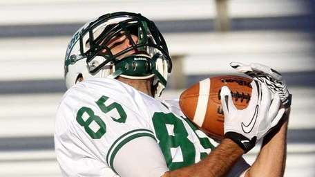 TD pass by Locust Valley's Joe Jacobi lands