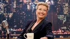 Emma Thompson as talk-show host Katherine Newberry in
