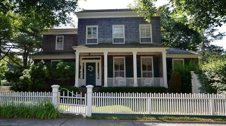 This Bellport Village home is listed for $1.3