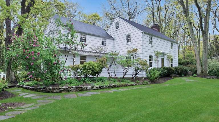 This 1929 four-bedroom Colonial in Stony Brook listed