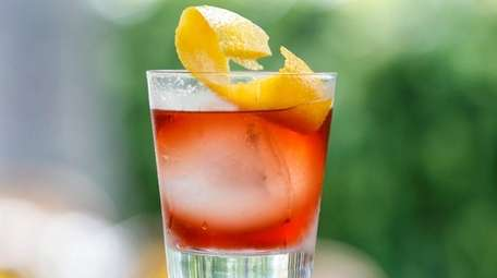A Negroni can be a refreshing summer cocktail.