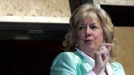Linda Fairstein, shown at a Safe Horizon event
