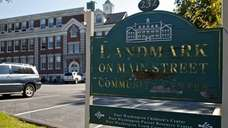 The Landmark on Main Street Community Center features,