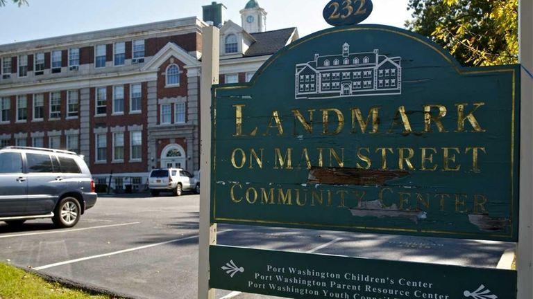 The Landmark on Main Street Community Center features,