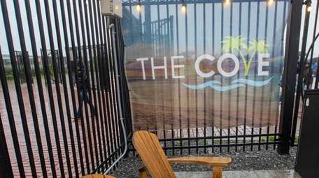 The Cove, a lounge area that sits right