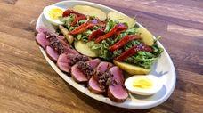 The Nicoise salad at EGP Land & Sea