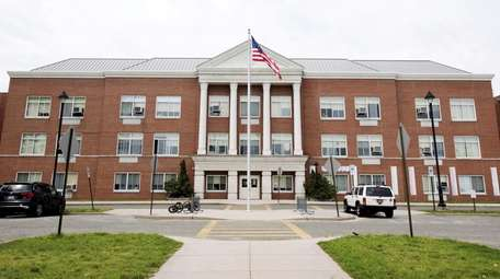 Park Avenue Memorial Elementary in Amityville is one