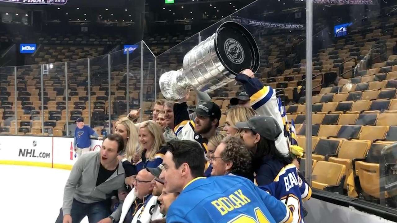 The St. Louis Blues won their first Stanley