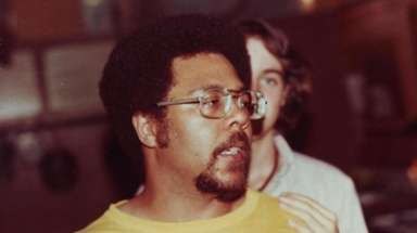 Leon James in 1981 at Daytop Village in