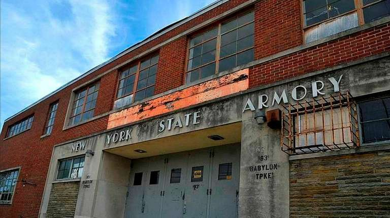 The armory in Freeport was decommissioned in 2011.