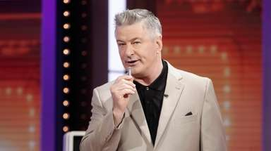 "Alec Baldwin hosts ABC's ""Match Game."""