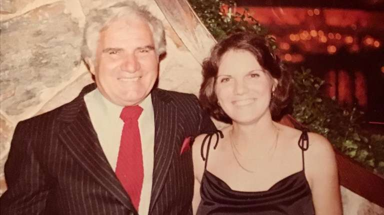 Joe Holtzman of Wantagh with his daughter, Suzanne,