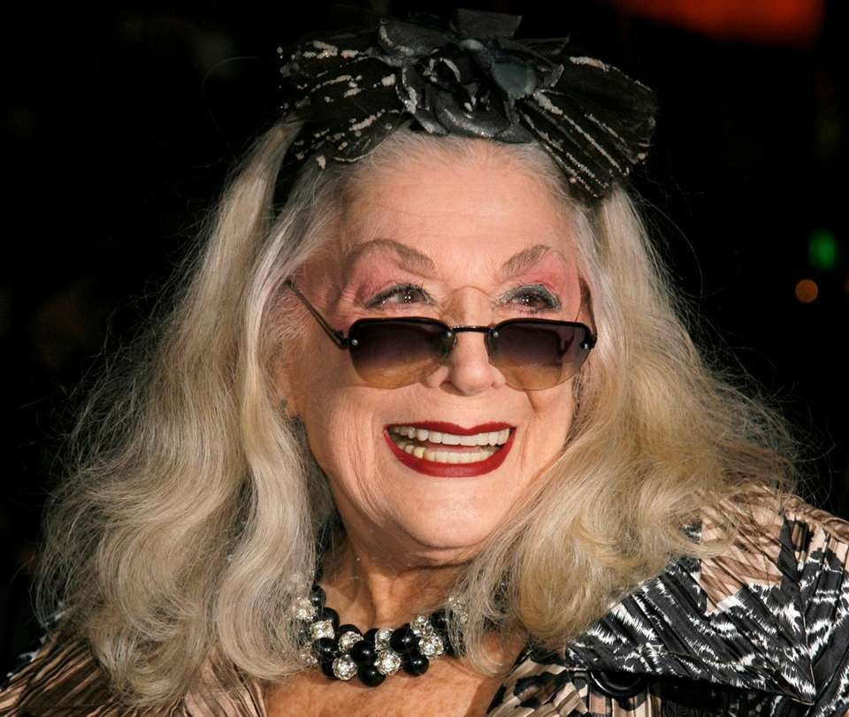 Sylvia Miles, an actress and Manhattan socialite whose
