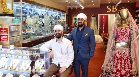 AJ Singh and his son Ronie Singh, at