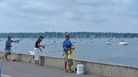 Anglers of all ages can toss their line