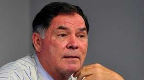 Ron Swoboda, a former rightfielder for the New