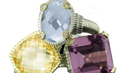 Silver and 18K gold jewelry is 50-70 percent