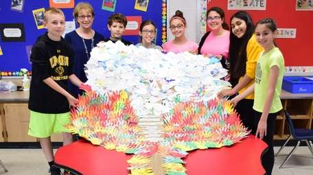 In North Bellmore, sixth-graders in Saw Mill Road