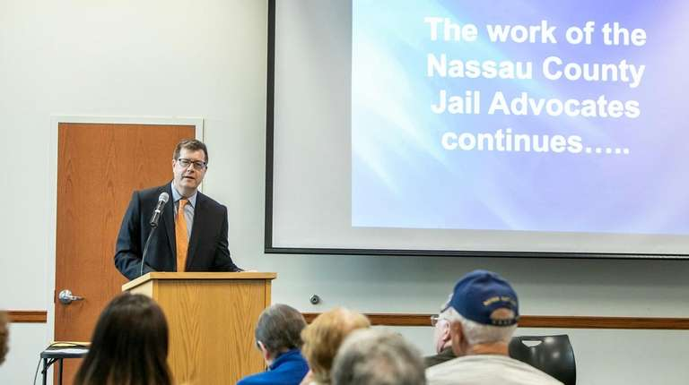 Dr. Homer Venters speaks about the Nassau County