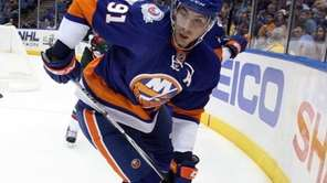 John Tavares #91 of the New York Islanders