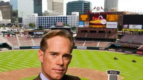 Fox Sports broadcaster Joe Buck poses for a
