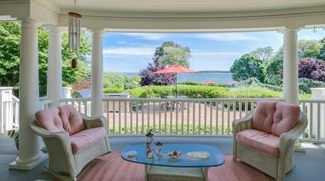 One of the Huntington Bay home's views.