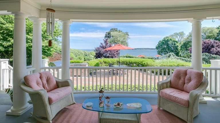 One of the Huntington Bay home's views.