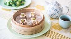 The Shanghai shao mai at Blue Wave in