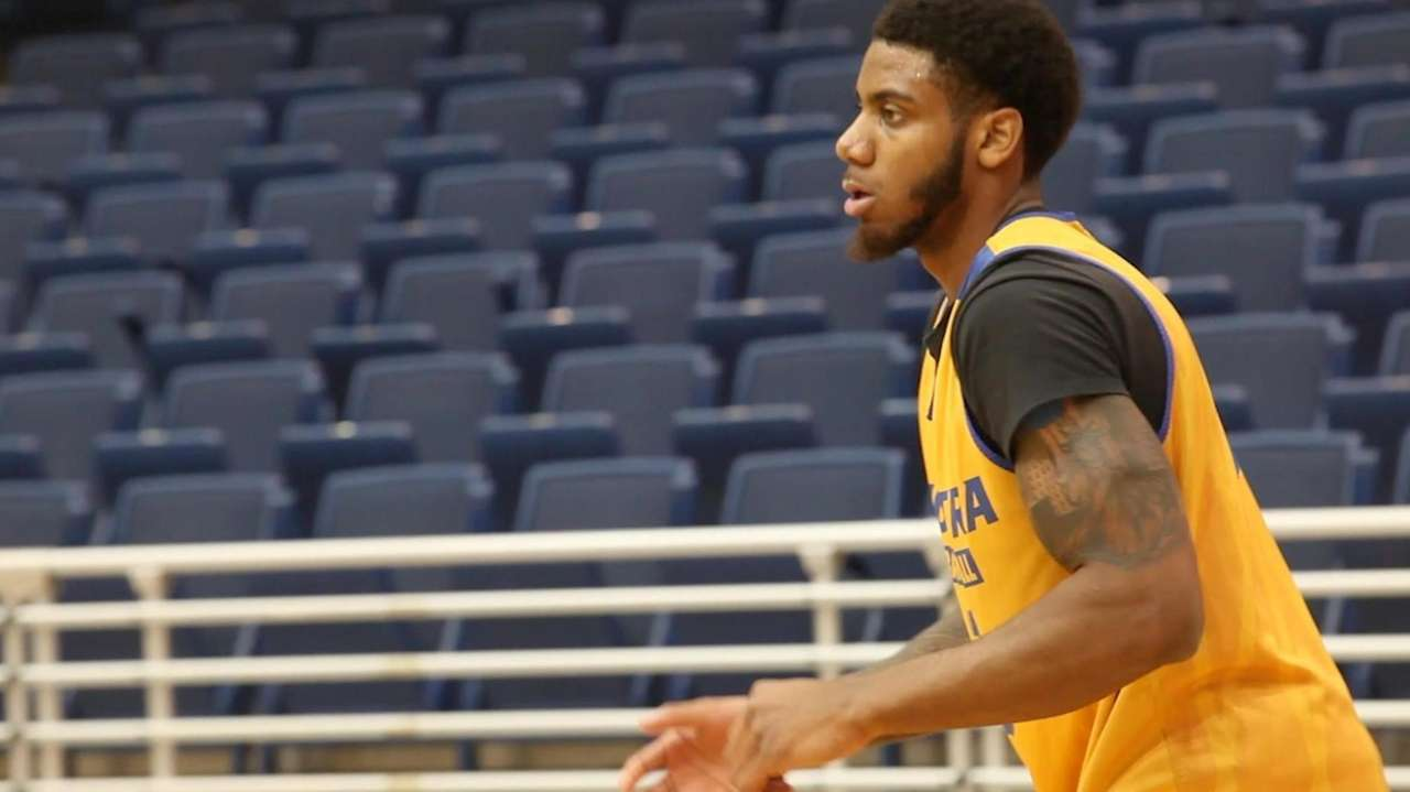 Hofstra guard Justin Wright-Foremanhas workout for a half