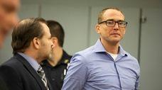Glenn Zaleski of Greenport in court in December