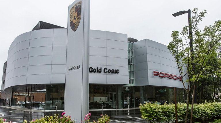 The new Gold Coast Porsche dealership at 125