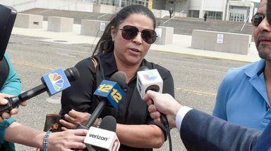 Lourdes Benegas, the mother of Michael Lopez Benegas,