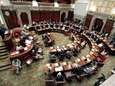 State senators consider legislation on May 8 at