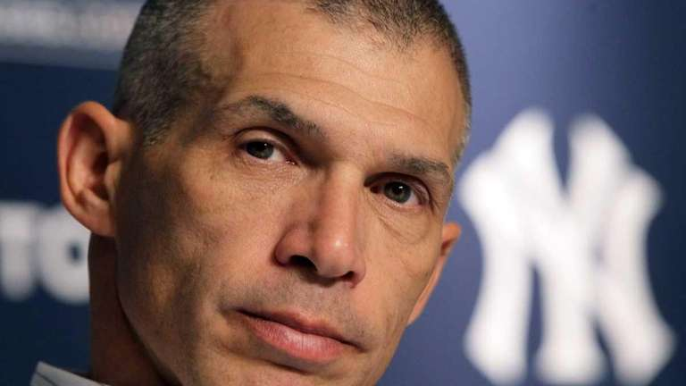 New York Yankees manager Joe Girardi speaks during