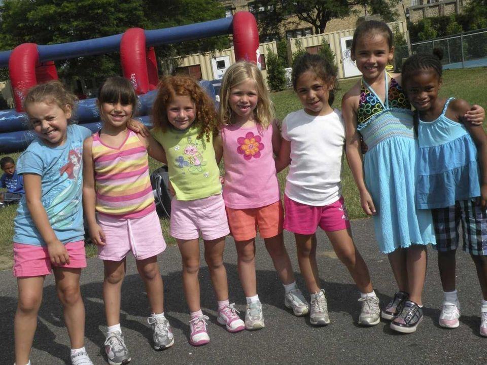 Kids having fun at the YMCA in Bay