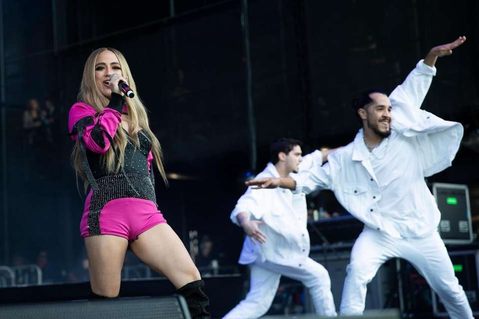 Ally Brooke performs at the BLI Summer Jam