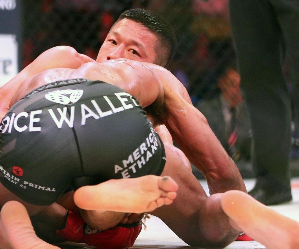 Kyoji Horiguchi defeated Darrion Caldwell for the bantamweight