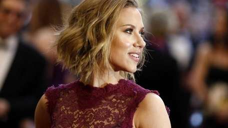 In this file photo Actress Scarlett Johansson arrives