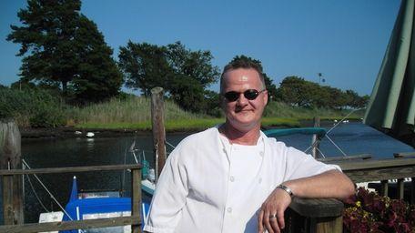 Chef Erik Hopkins at Catfish Max in Seaford