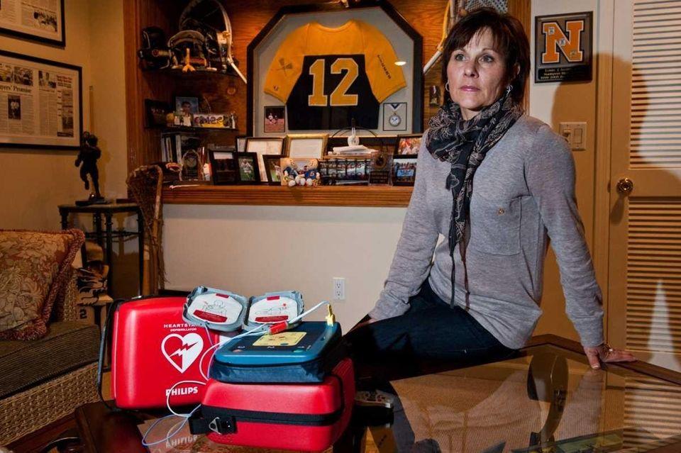 Karen Acompora honors the memory of her son,
