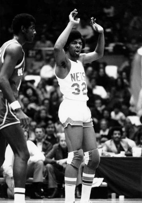 """""""Dr. J"""" finished his career as one of"""