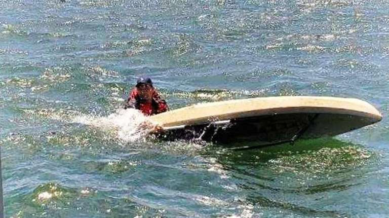 Police: Marine officers rescue kayaker in Long Island Sound