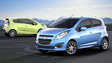 GM announced that the Chevrolet Spark will available