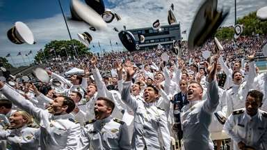 The U.S. Merchant Marine Academy's class of 2019
