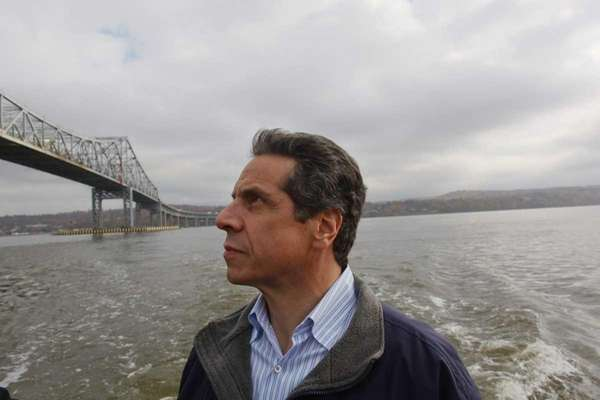 Andrew Cuomo, as governor-elect, conducted an inspection tour